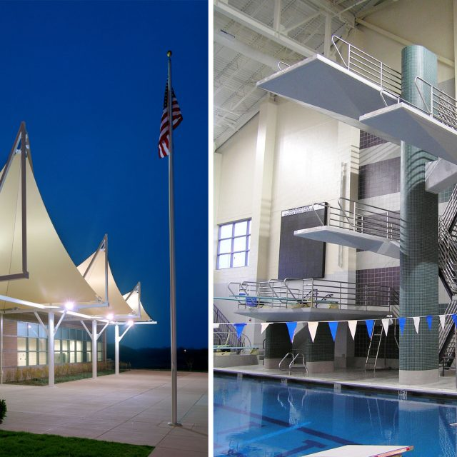 Germantown Aquatic Center Hughes Group Architects
